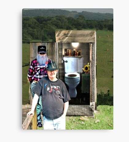 """A Privileged Peek into Bubba's Stress Management; An Interview""... prints and products Canvas Print"