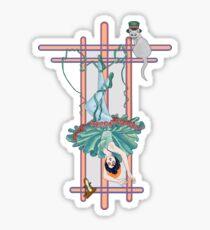 Tarot Hanged Woman Sticker