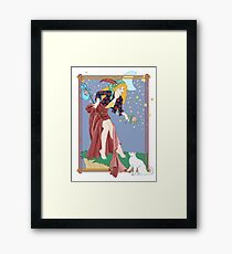 Tarot Fool Framed Print