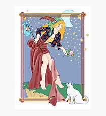 Tarot Fool Photographic Print