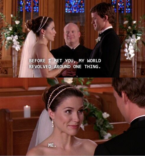 One Tree Hill - Brooke's Vows by shannonnoelle