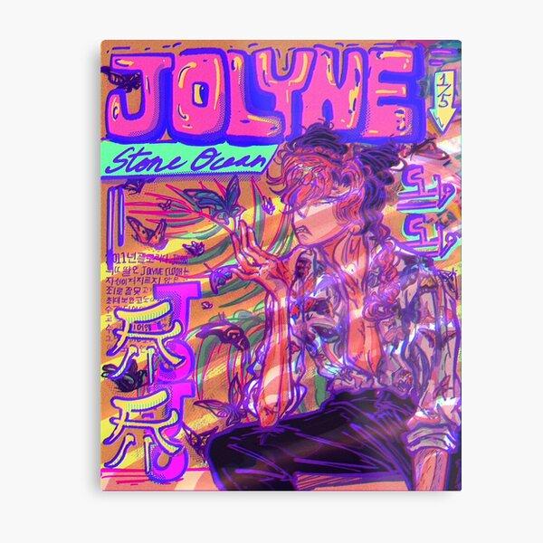 Jolyne Metal Print