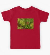 Impressions of Gardens - a Miniature Spring Creek with a Red Primrose  Kids Clothes