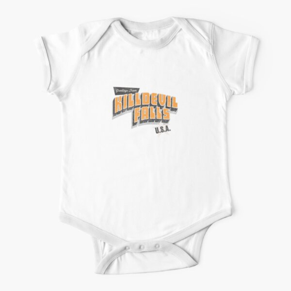 Kill Devil Falls Short Sleeve Baby One-Piece