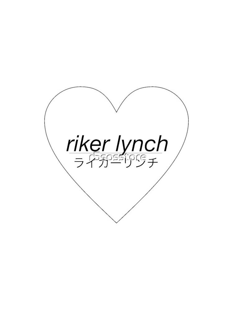 Riker Lynch Liebesherz von r5sosstore