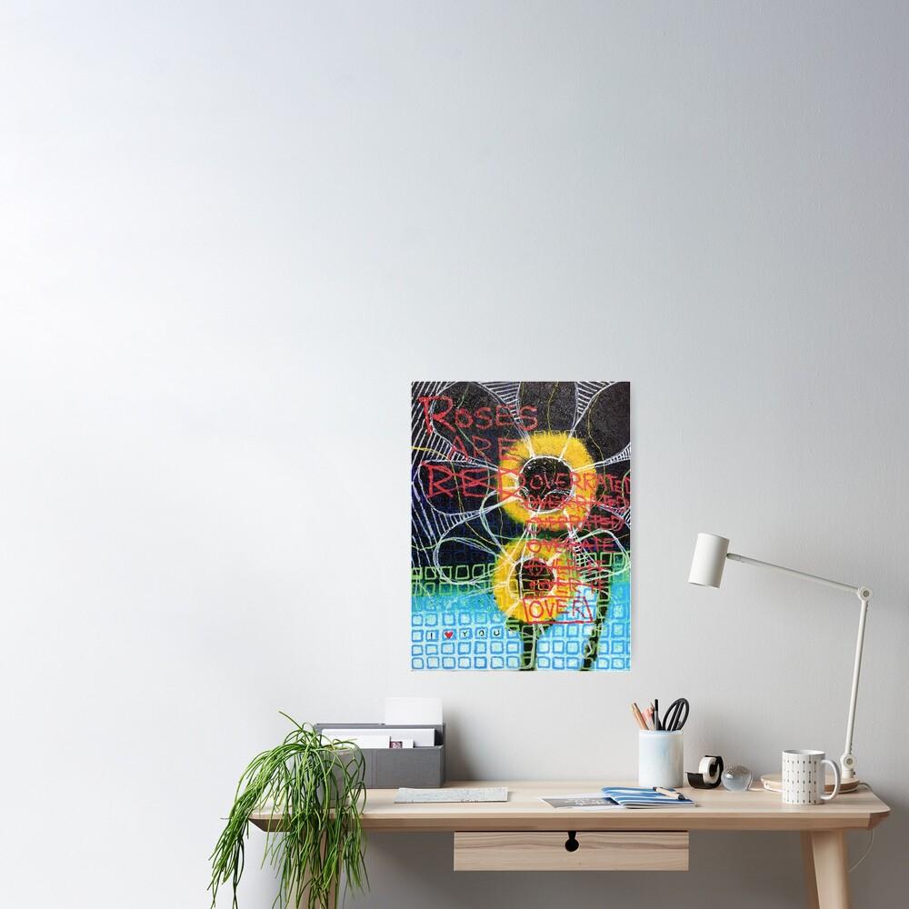 Flowers Wilt Poster