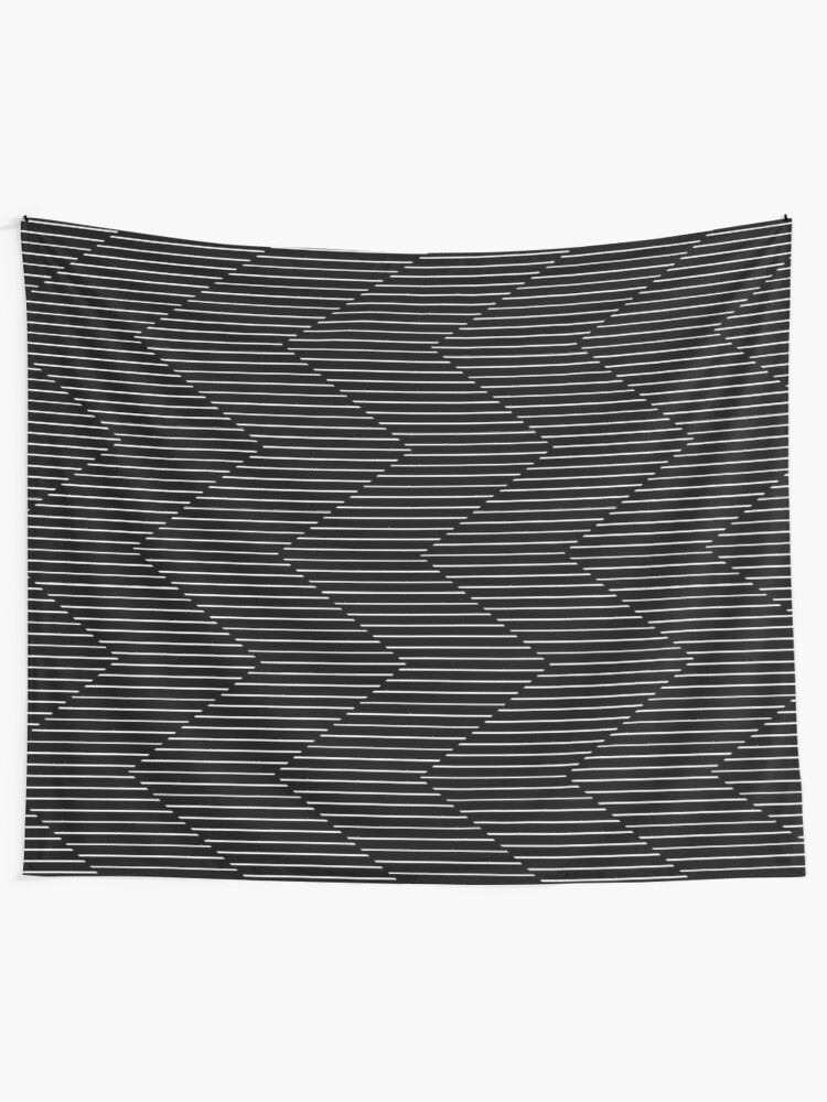 Alternate view of The Serpentine Illusion  Tapestry