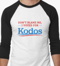 Don't Blame Me I Voted For Kodos Shirt Men's Baseball ¾ T-Shirt
