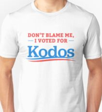 Don't Blame Me I Voted For Kodos Shirt T-Shirt
