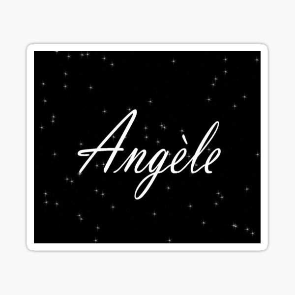 Angèle Sticker