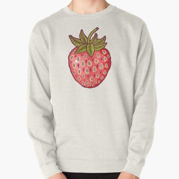 strawberry fields Pullover Sweatshirt