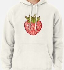 strawberry fields Pullover Hoodie