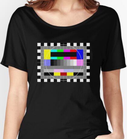Test Tee Women's Relaxed Fit T-Shirt