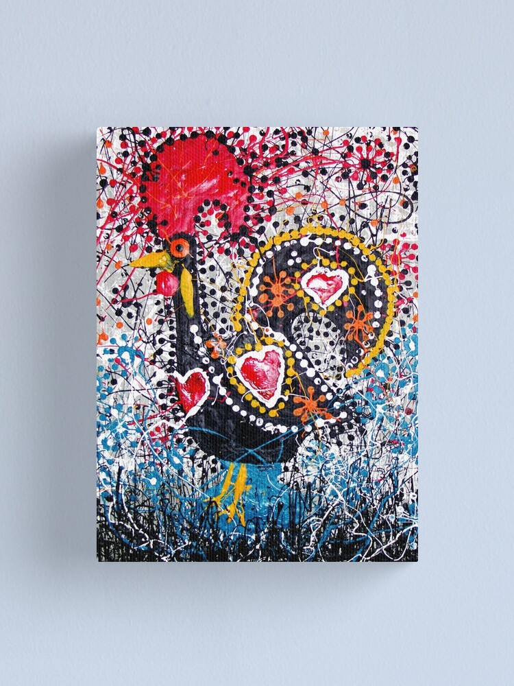 Alternate view of Portuguese Rooster 1 Canvas Print