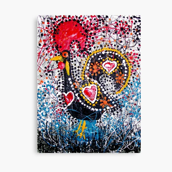 Portuguese Rooster 1 Canvas Print