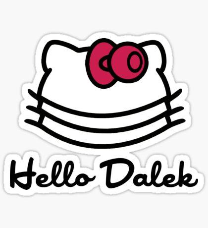 Hello Dalek Sticker