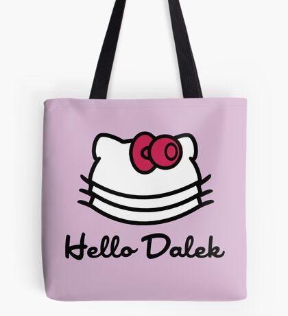 Hello Dalek Tote Bag