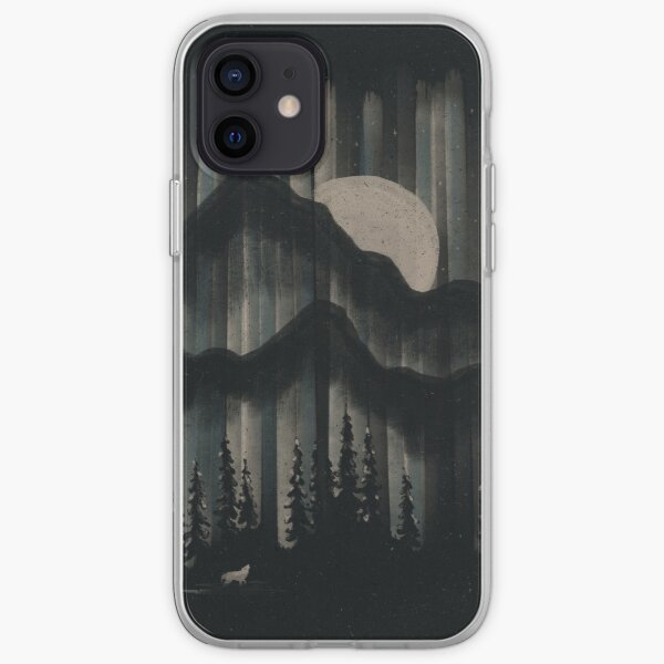 A Wolf in the Night... iPhone Soft Case