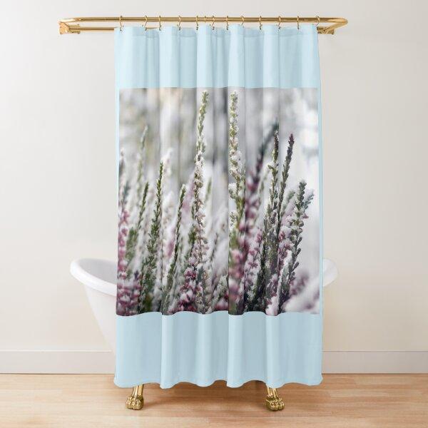 Snow Covered Calluna Shower Curtain