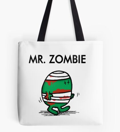 MR. ZOMBIE Tote Bag