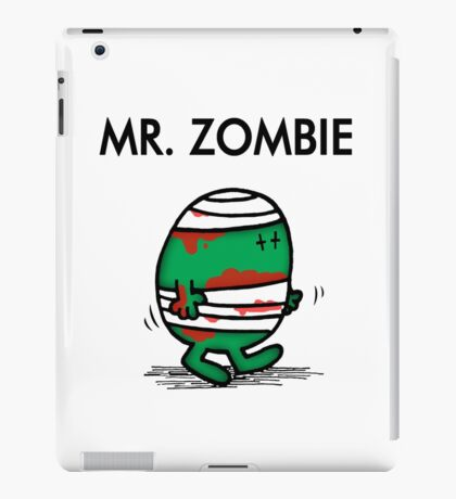 MR. ZOMBIE iPad Case/Skin