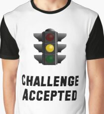 Challenge Accepted Light Graphic T-Shirt
