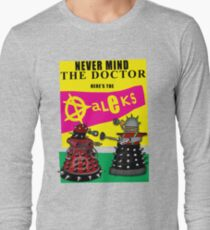The Punk Daleks  Long Sleeve T-Shirt