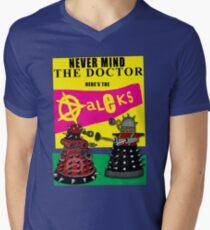 The Punk Daleks  Mens V-Neck T-Shirt