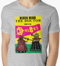 The Punk Daleks  Mens V-Neck T-Shirt