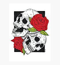 Boney Roses  Photographic Print