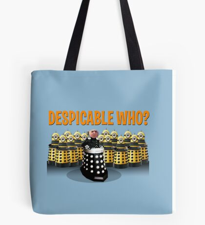 DESPICABLE WHO? Tote Bag