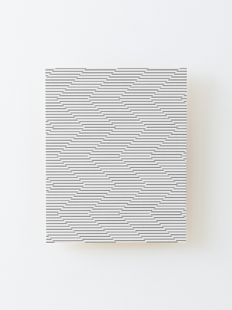 Alternate view of The Serpentine Illusion  Mounted Print