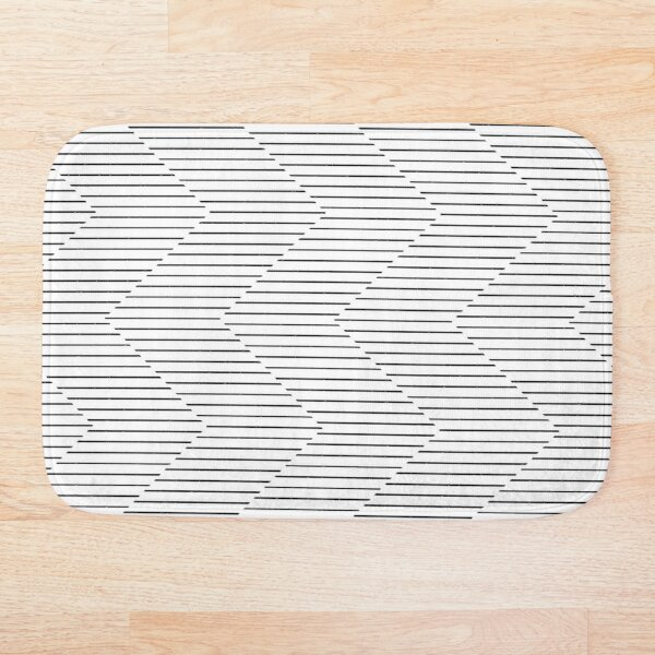 The Serpentine Illusion Bath Mat