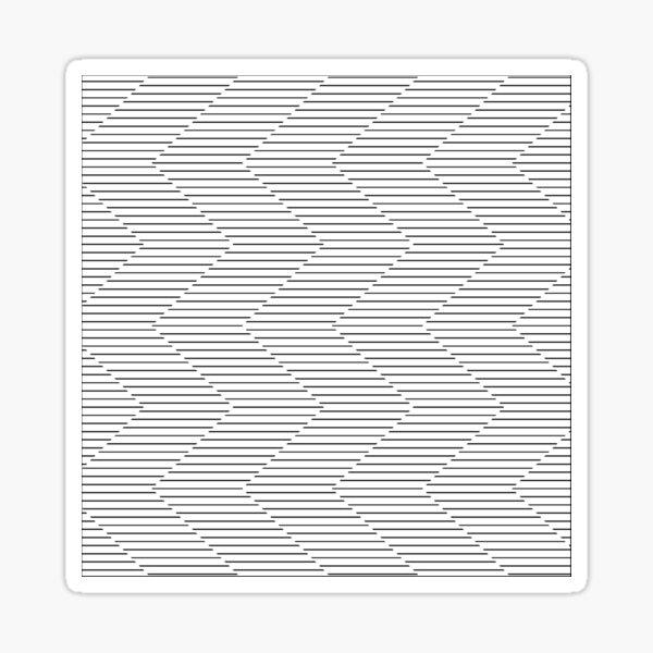 The Serpentine Illusion  Sticker