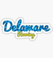 Delaware Rowing  Sticker