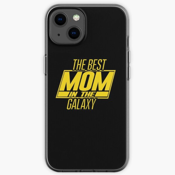The Best Mom In The Galaxy iPhone Soft Case