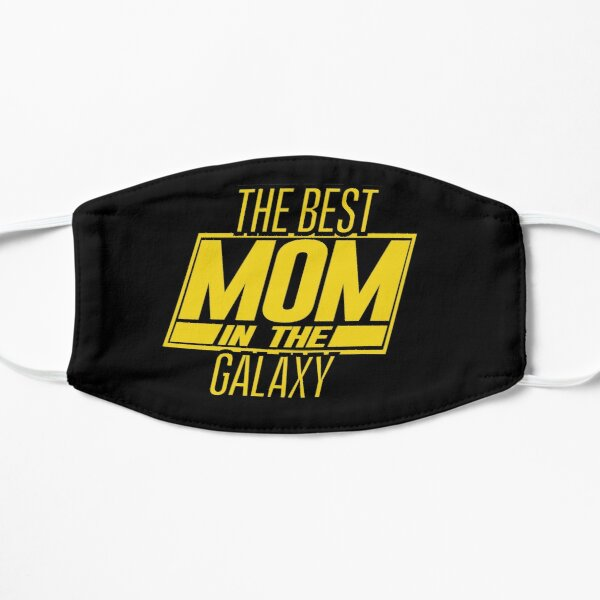 The Best Mom In The Galaxy Flat Mask