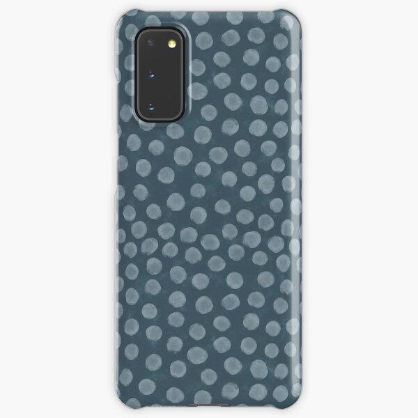 Watercolor Blue Dots Seamless Pattern Samsung Galaxy Snap Case