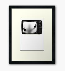 Don't Get Caught. Framed Print
