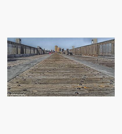 Down Low on the Boardwalk Photographic Print