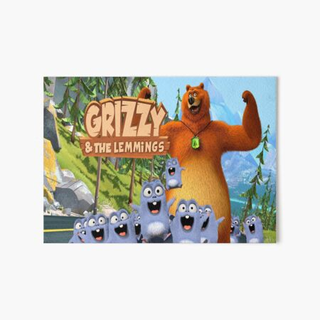 Grizzy and the Lemmings Galeriedruck