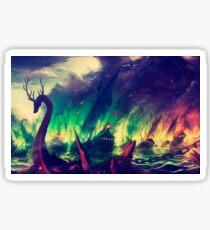 BlackWater Wildfire  Sticker