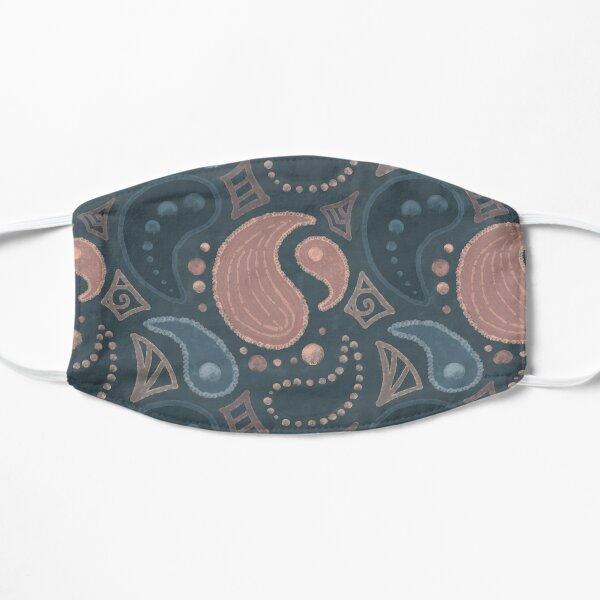 Painted Paisley Seamless Pattern Flat Mask
