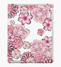 Vinilo o funda para iPad Pink floral
