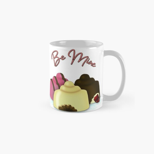 Be Mine Valentine's Day Candy Classic Mug