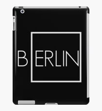 Berlin art print iPad Case/Skin