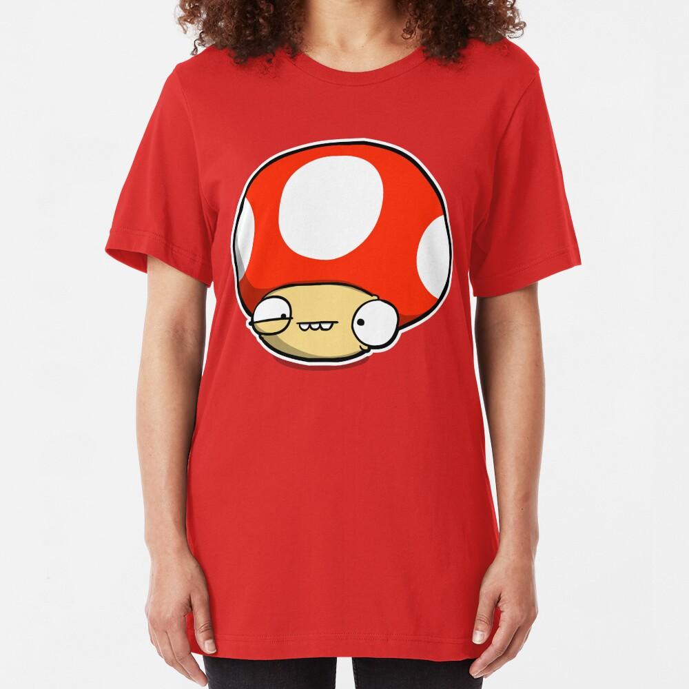 Twitchy Mushroom Slim Fit T-Shirt