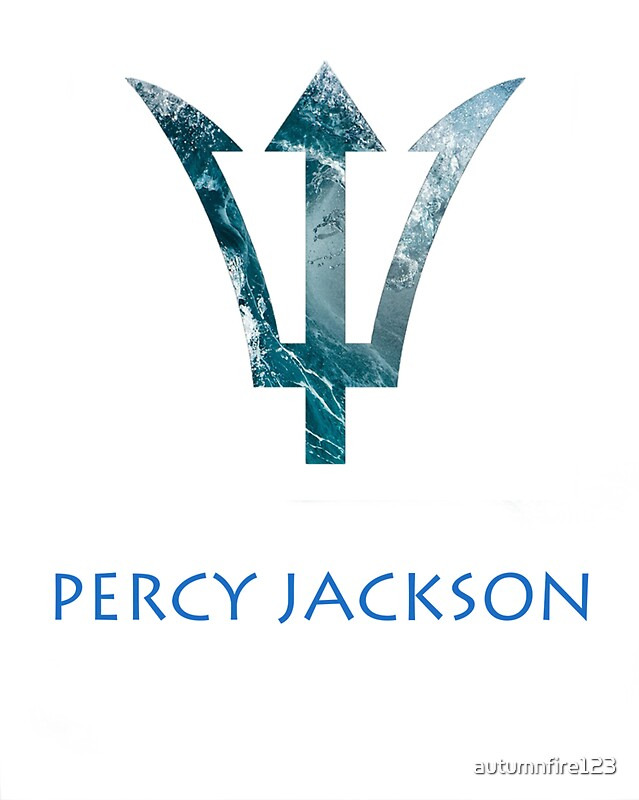 """Percy Jackson- Trident"" Stickers by autumnfire123 