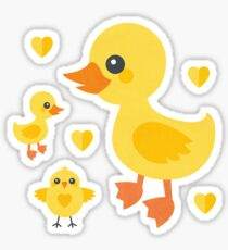 Chicks and Ducklings Sticker