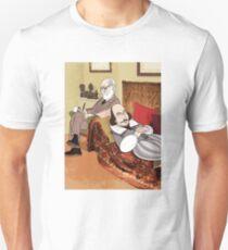 Freud analysing Shakespeare Unisex T-Shirt